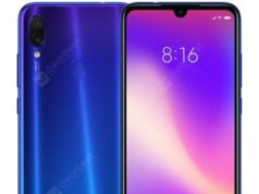 Xiaomi Redmi Note 7 aqua blue